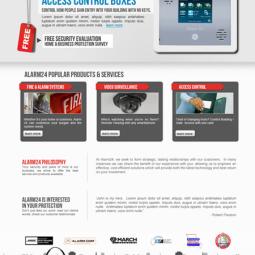 Alarm 24 Website