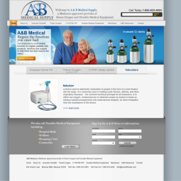 AB Medical Website