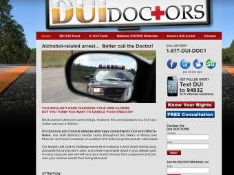 DUI Doctors Website