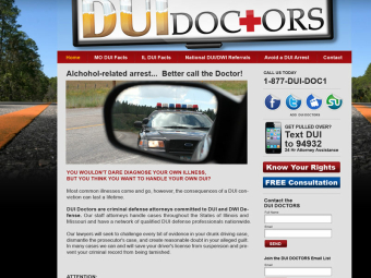 DUI Doctors Website