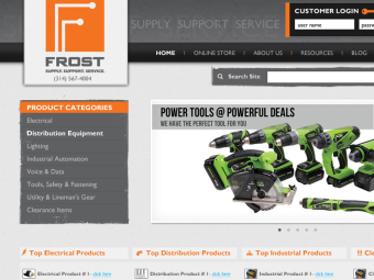 Frost Ecommerce Website