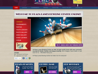 Plaza Lanes Website