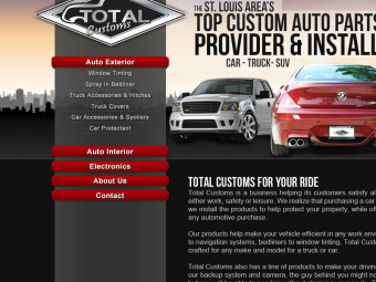 Total Customs Website